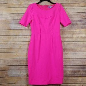 Antonio Melani| Hot Pink Sheath Dress sz 6